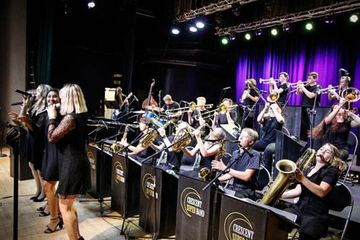 Crescent Super Band is Caleb Chapman's flagship band. They perform a broad range of styles and are c