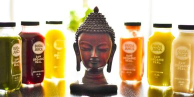 Jen Chi Coaching, Buda Juice Dallas, Raw, Organic, Cold-Pressed, Glass Containers, Dallas, DFW