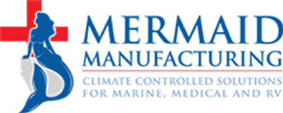 mermaid marine air logo