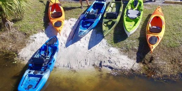 Kayak tours port charlotte