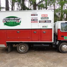 mobile small engine repair maintenance and service truck for on site repairs and maintenance