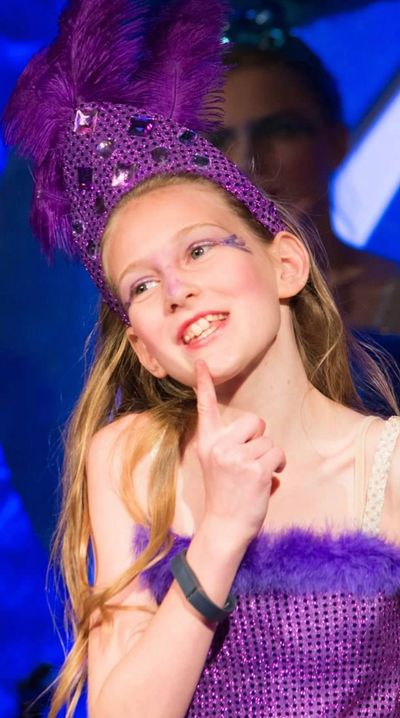 Photograph of a performer in Seussical, the Musical, Jr