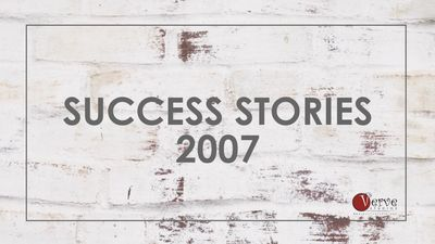 Success Stories of Verve Studios Staff and Students, 2007.