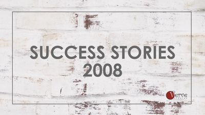 Success Stories of Verve Studios Staff and Students, 2008.