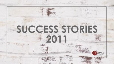 Success Stories of Verve Studios Staff and Students, 2011.