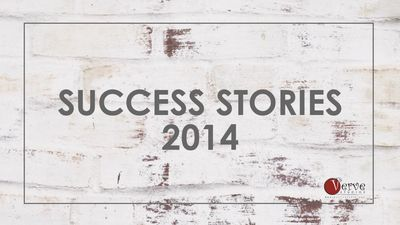 Success Stories of Verve Studios Staff and Students, 2014.