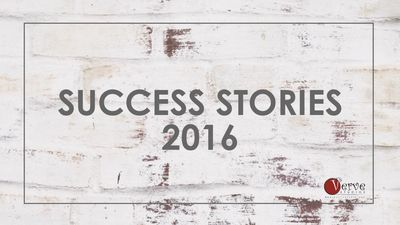 Success Stories of Verve Studios Staff and Students, 2016.