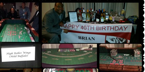 40th Birthday Casino Night