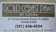 Gold Coast Pawn of Cocoa
