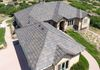 "Designer Concrete Tile Roof Replacement for hail-damage.  Boral Saxony Slate in ""Telluride"""