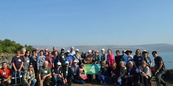 MARIANATHA TOURS/ TCB TRAVEL & TOURS GROUP AT THE SEA OF GALILEE