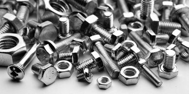 Nuts, bolt and washers