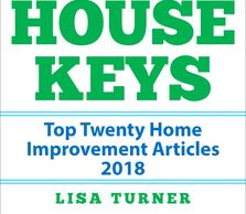 House Keys Top Twenty Articles of 2018 on home improvement