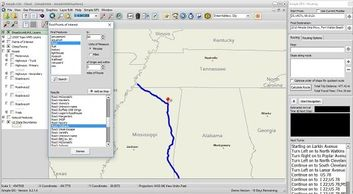 GPS Tracking, Routing, and Navigation features in Simple GIS Client