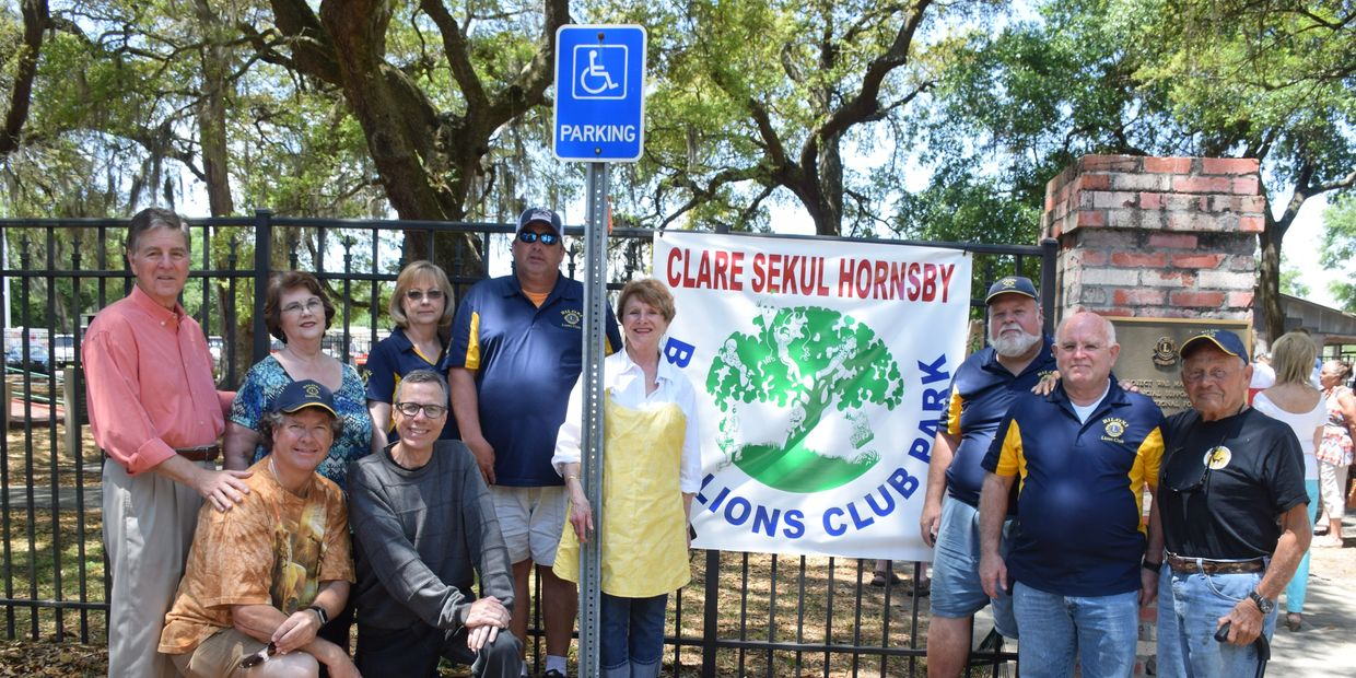 A playground accessible to all named for our honored member, Clare Sekul Hornsby
