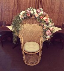 bridal shower chairs