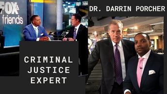 Dr.Darrin Porcher is a law expert commentator for mainstream platforms and networks.