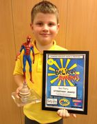 Spiderman Award Winner