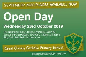 Open Day Wed 23rd Oct 2019