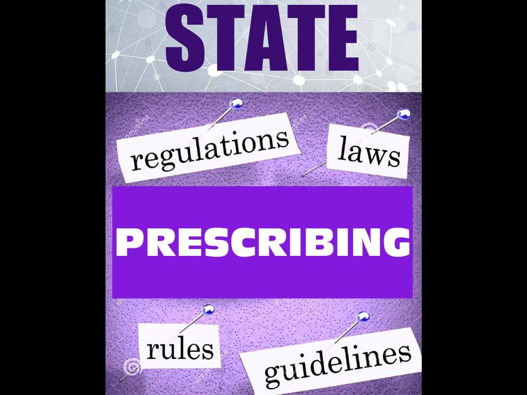 OPIOID PRESCRIBING information regulations GUIDELINES by state