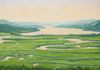 The Hudson River at Boscobel, Garrison NY, oil on canvas, 18x24inches