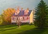 46 Carolina Drive, commissioned work, oil on canvas 11x14 inches