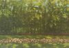 Stone Wall, by Jane and Tess Simonson, oil on canvas, 15x30 inches