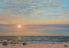 Long Beach Island Sunrise, commissioned work, oil on canvas, 12x24 inches