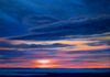Sunset Martha's Vineyard, oil on canvas 18x24 inches
