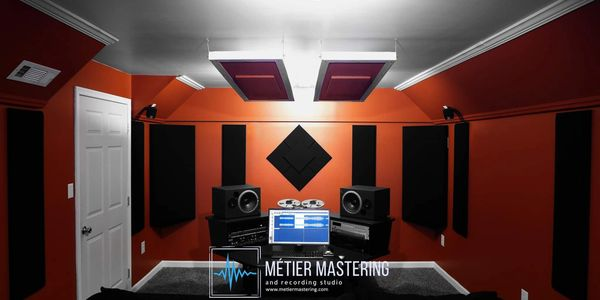 Inside the studio of Metier Mastering