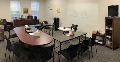 Group Room at Princeton Center for DBT