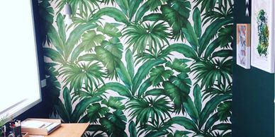 wallpaper design non woven wallpaper hanger green design murals