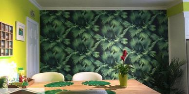 Custom vinyl wallpaper supplier. textured wallpaper installers Melbourne