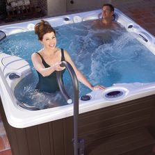 We Carry A full Line of Hot Tub Accessories, Steps and Lifters