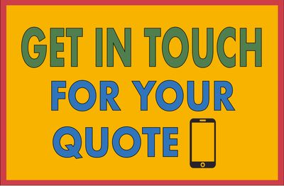 Get in touch for your quote