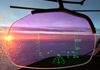 Sunset through the Heads Up Display