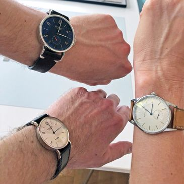 NOMOS group wrist shot