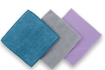 This bundle includes compact versions of our EnviroCloth, Window Cloth, and Body Cloth.
