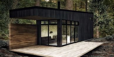 Designing and building hand-crafted, luxury tiny homes.