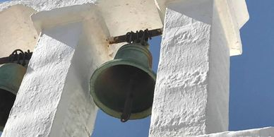 Church bells, Greece, 2017.