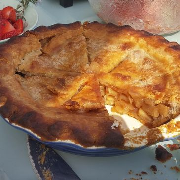 Gluten Free Apple Pie.