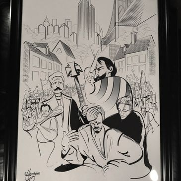 Limited Edition Hirschfeld Prints