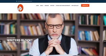 Website design for authors