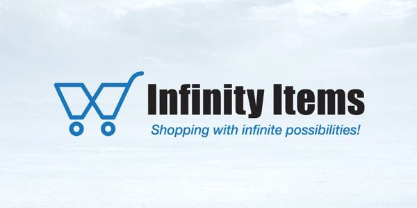 Infinity Items logo design by Ace of Spades Design.