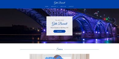 Buffalo REALTOR website designed by Ace of Spades Design