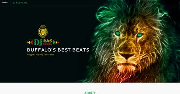 Logo and web design for DJs