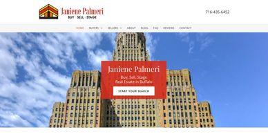 REALTOR website designed for Janiene Palmeri in Buffalo, NY