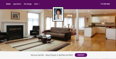 Website design for real estate agents
