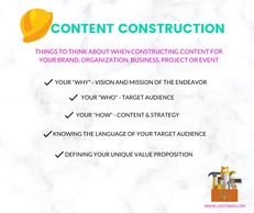 Content Construction elements by Lisa Toban - www.lisatoban.com