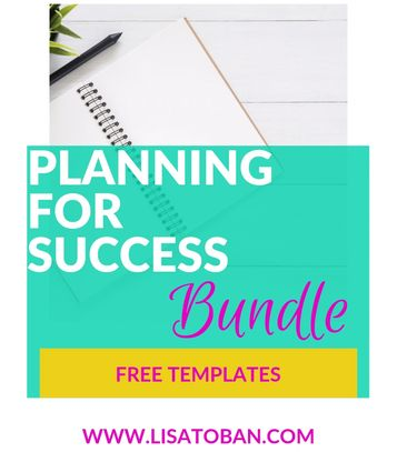 Planning for Success Bundle - Free Templates!